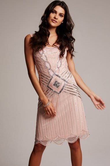 Frock and Frill English rose embellished dress