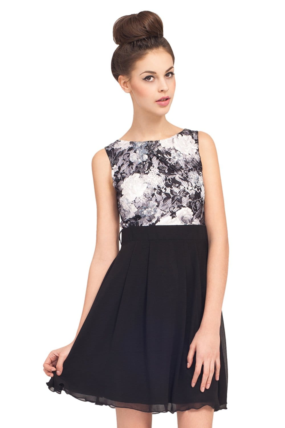 Galerry flare effect dress