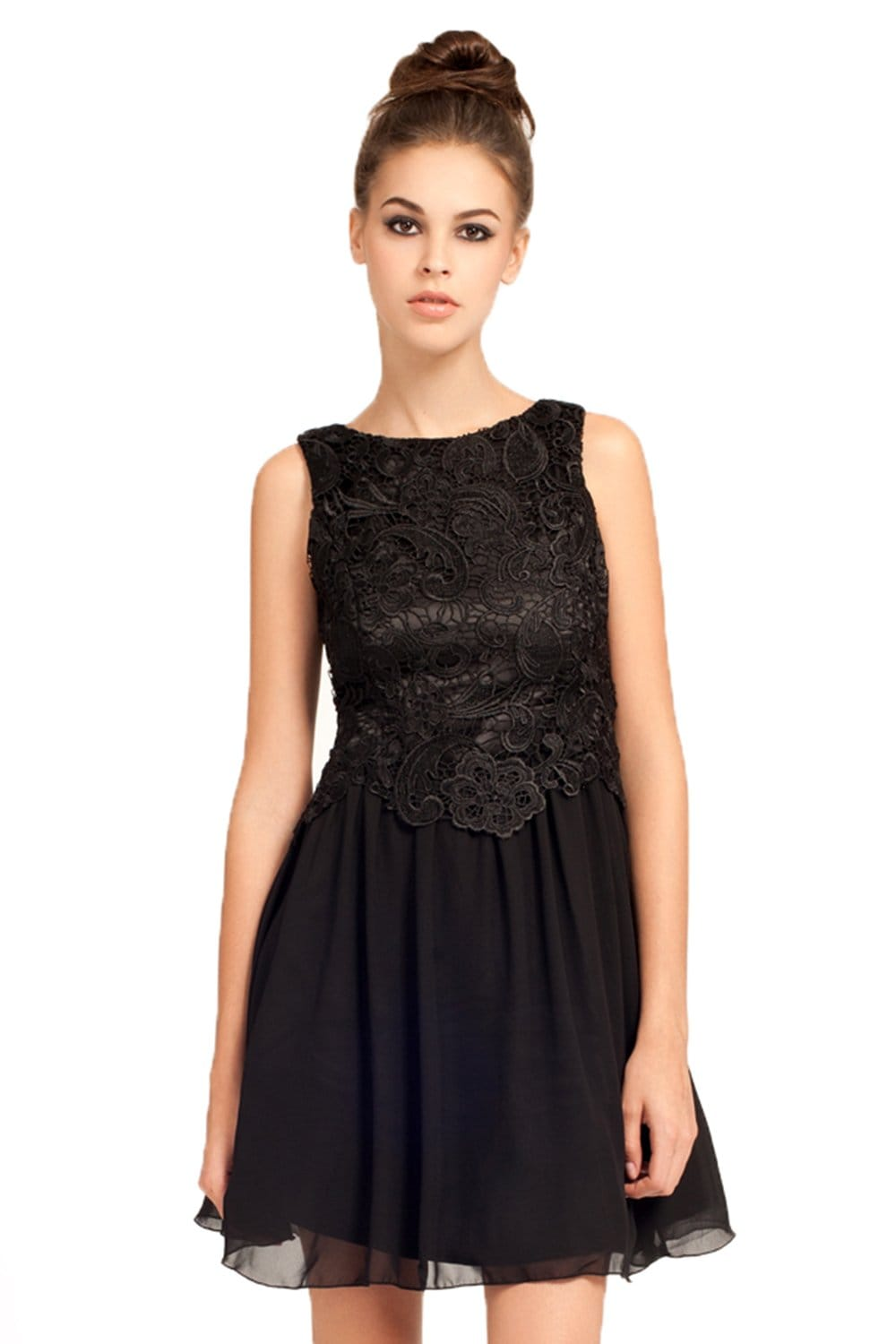 LACE LITTLE BLACK DRESS - Nasha Bendes