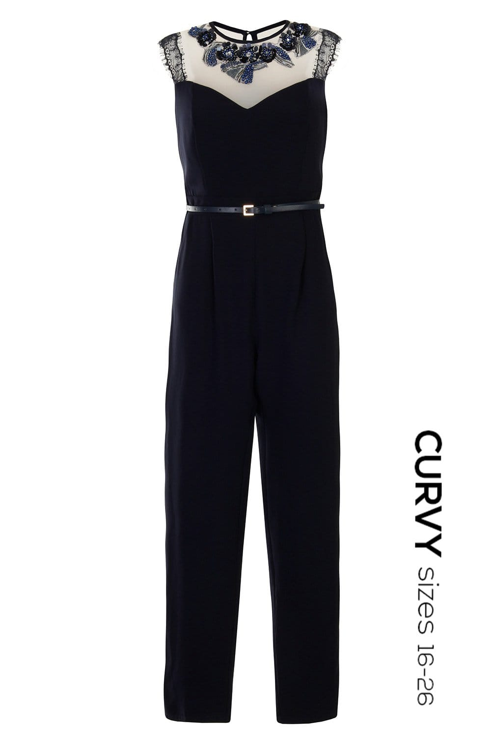 Excellent Jumpsuits Are A Curvy Girls Best Friend Notice How The Jumpsuits