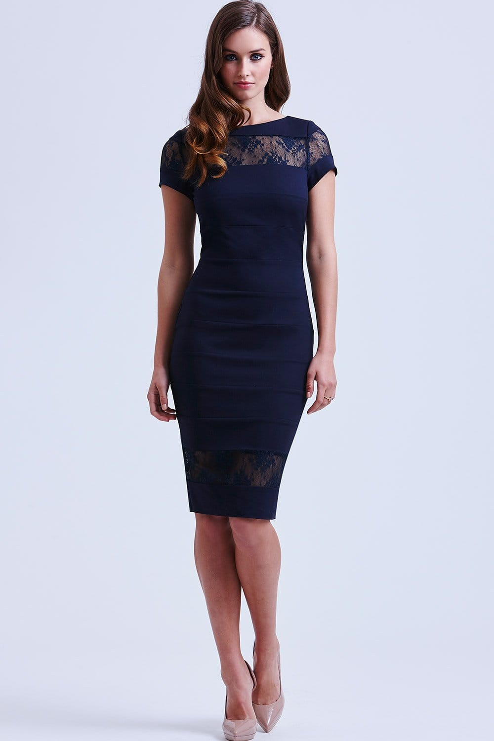 Free shipping BOTH ways on Dresses, Navy, Women, from our vast selection of styles. Fast delivery, and 24/7/ real-person service with a smile. Click or call