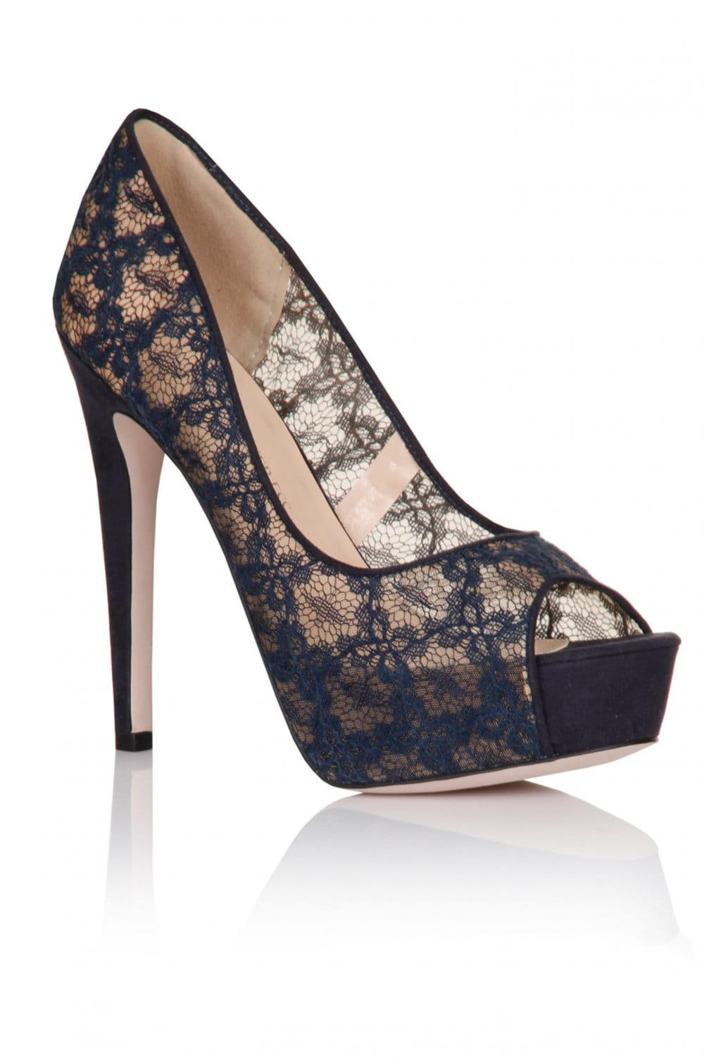 Navy Blue Shoes For Bridesmaid