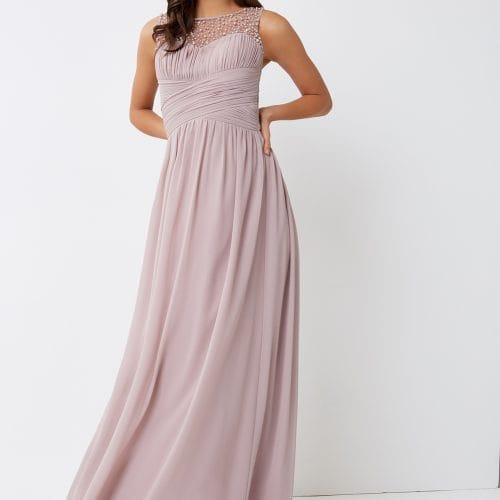 Little Mistress Mink Maxi Dress