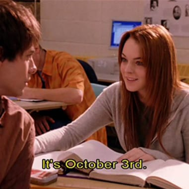 Top Ten Mean Girls Quotes Because, It's October 3rd..