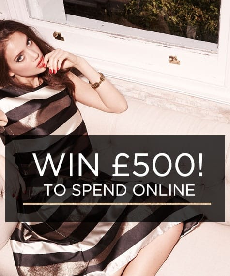 Win £500 to Spend Online