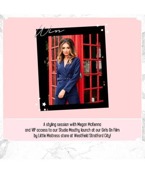 Win a styling session with Megan McKenna