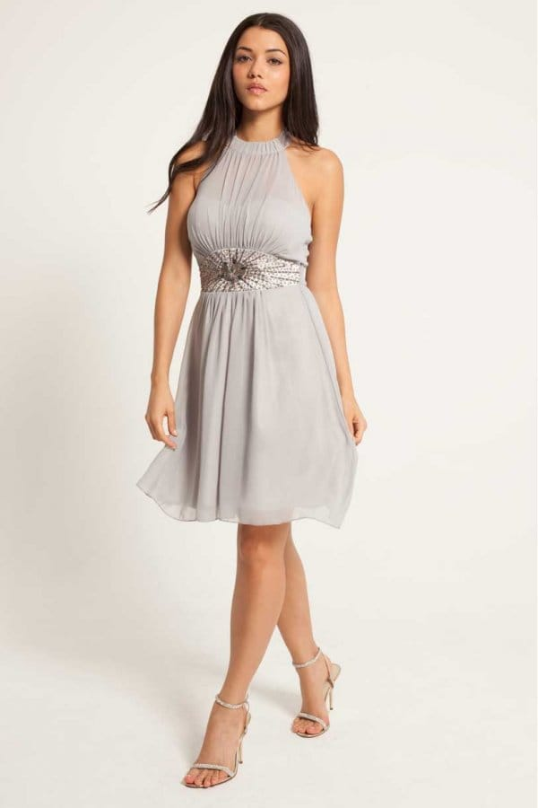 Free shipping BOTH ways on vince camuto floral chiffon halter dress vc2a grey, from our vast selection of styles. Fast delivery, and 24/7/ real-person service with a .