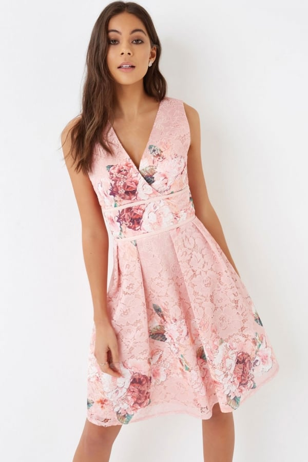 Pink Prom Dress - from Little Mistress UK