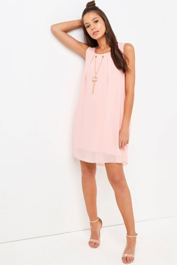 Outlet Girls On Film Pink Shift Dress - Outlet Girls On Film from ...