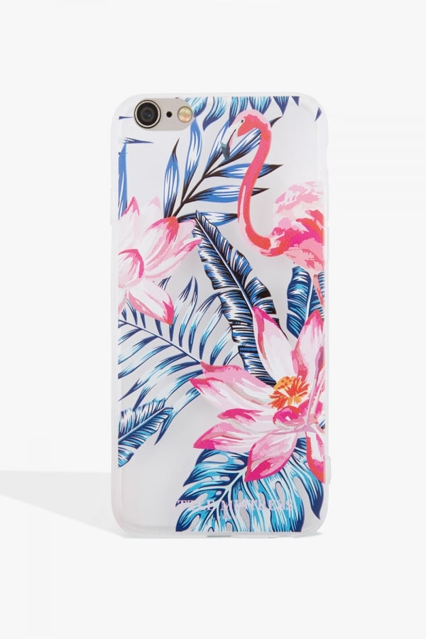 Multicoloured Flamingo Case Iphone 6