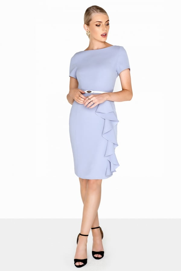 6f9f0ec08a7 Outlet Paper Dolls Blue Ruffle Dress - Outlet Paper Dolls from ...