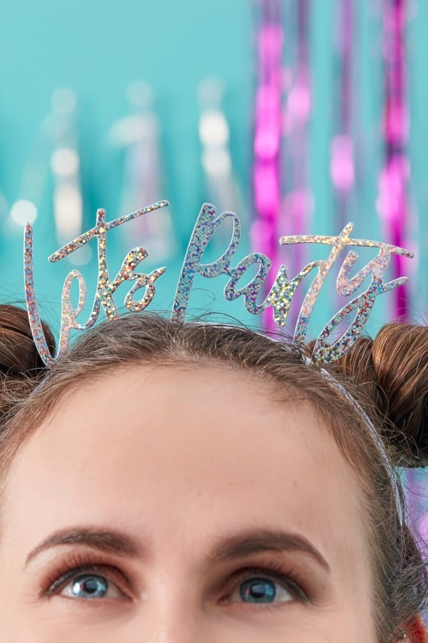 Image of 'Let's Party' Headband