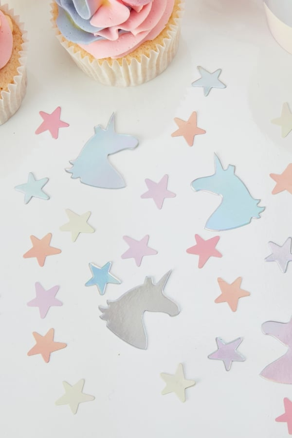 Unicorn and Stars Confetti