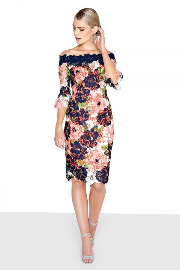 6f9b9fa1f2 Outlet Paper Dolls Bloom Bardot Dress - Outlet Paper Dolls from ...