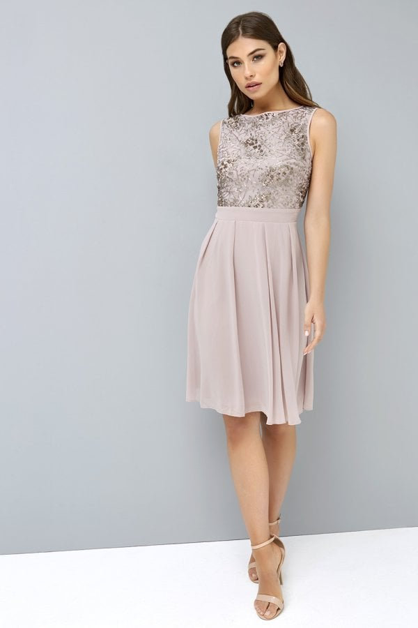 Mink Sequin Prom From Little Mistress Uk