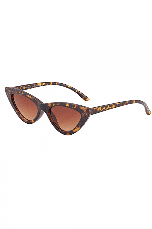 9cdc11bfece0f Tortoiseshell Mini Cat Eye Sunglasses - from Little Mistress UK