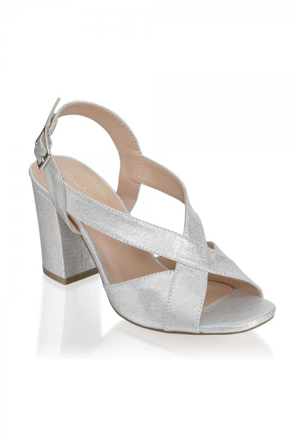 Paradox London Hibiscus Silver Wide Fit