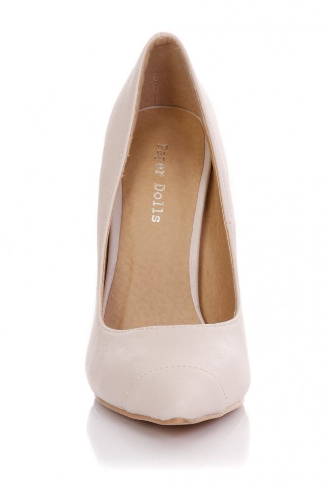 Outlet Paper Dolls Nude Court Shoe