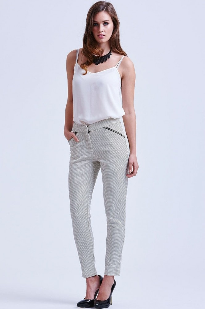 Paper Dolls Nude Tapered Trousers