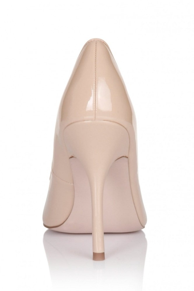 Outlet Paper Dolls Nude Patent Pointed Court Shoe