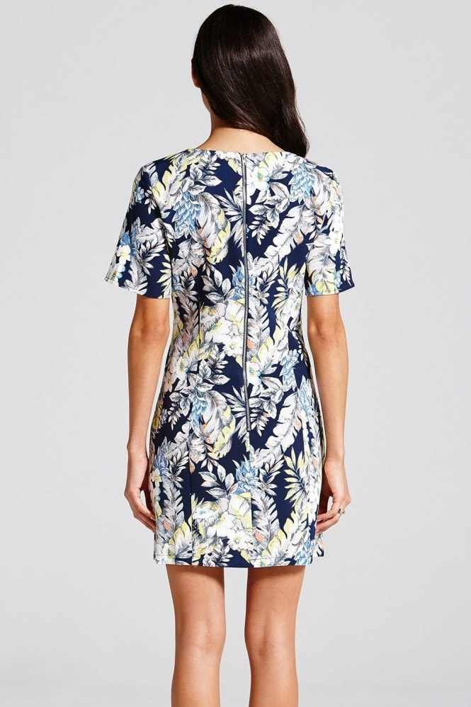 Outlet Girls On Film Tropical Print  Tunic Dress