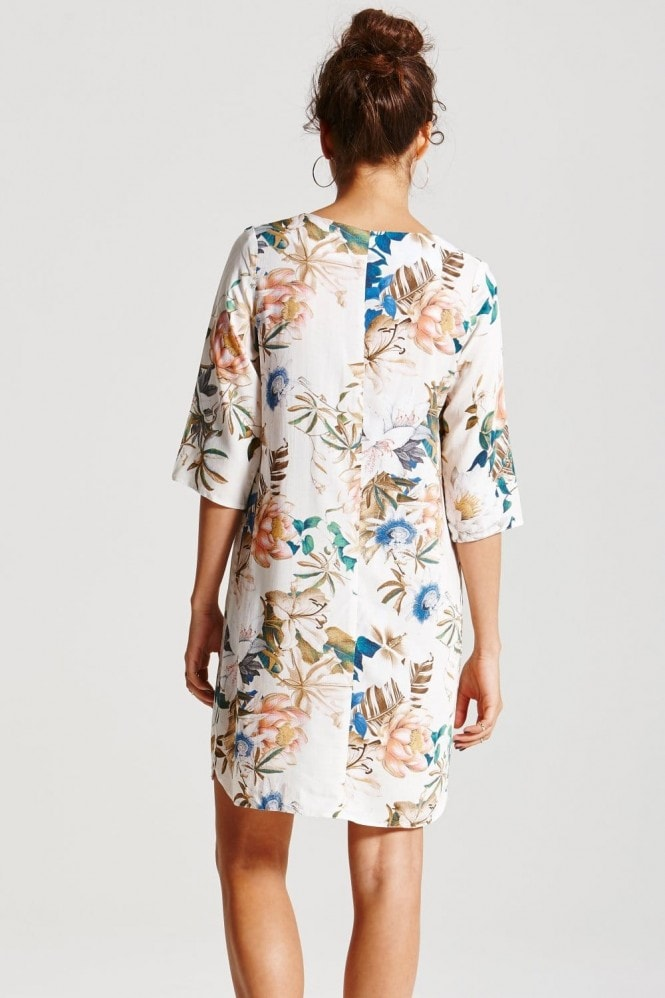 Outlet Girls On Film Floral Tunic Dress