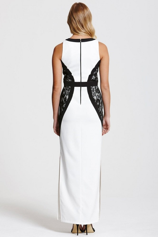 Outlet Paper Dolls Monochrome Maxi Dress