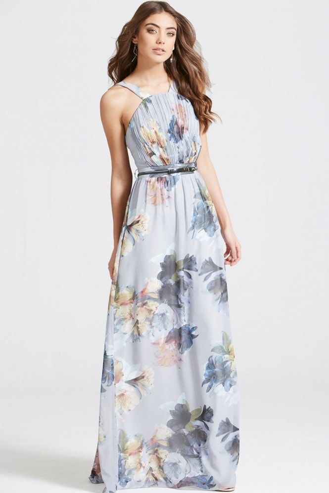 Floral Print Occasion Maxi Dress