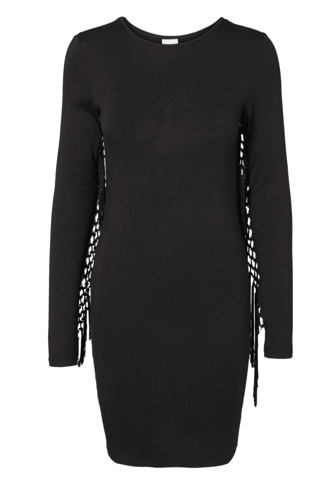 Noisy May Fringe Bodycon Dress