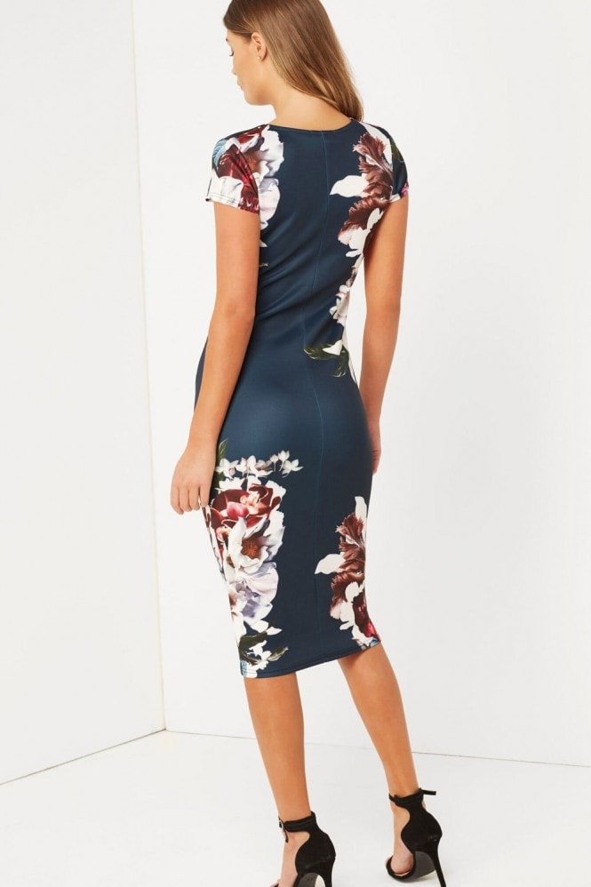 Girls on Film Print Bodycon Dress