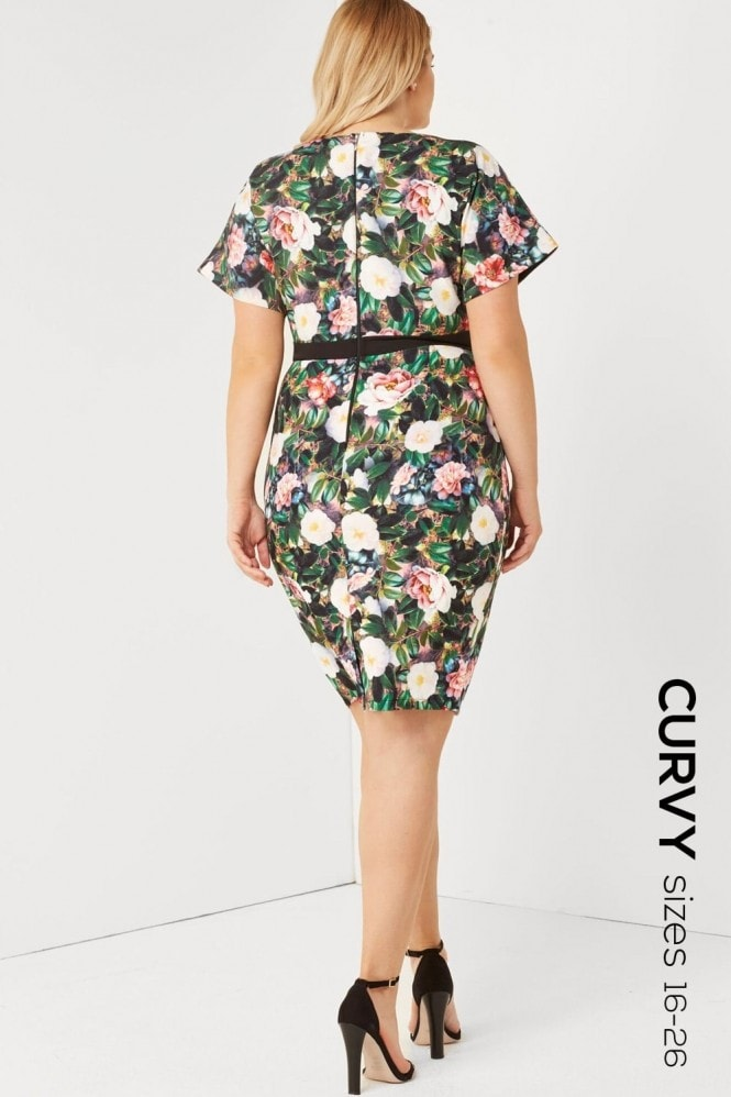 Outlet Paper Dolls Multi Kimono Dress
