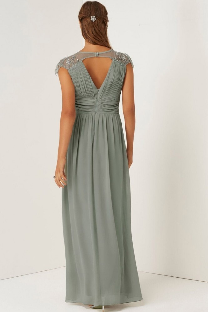 Little Mistress Waterlily Embellished Maxi