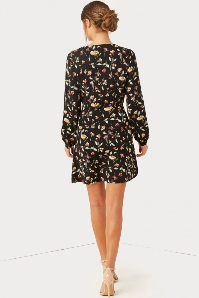 Girls on Film Floral Print Dress