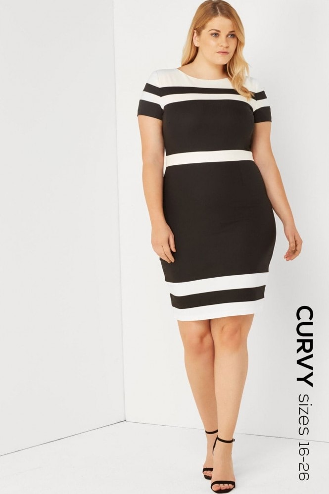 Paper Dolls Curvy Multi Bodycon Dress