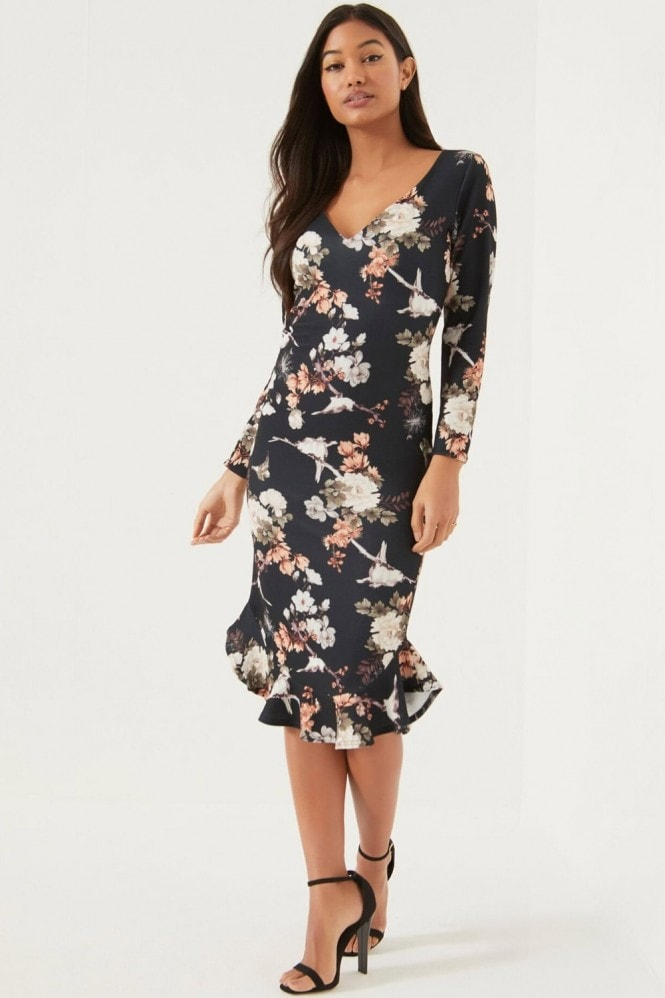 Girls on Film Print Dress