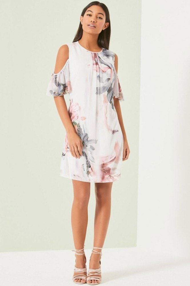 Little Mistress Lily Print Tunic Dress