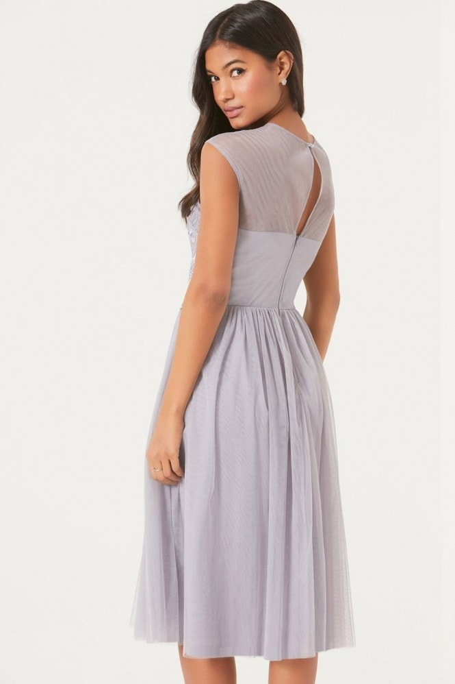 Little Mistress Purple Prom Dress
