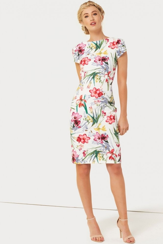 Paper Dolls Print Pleat Dress