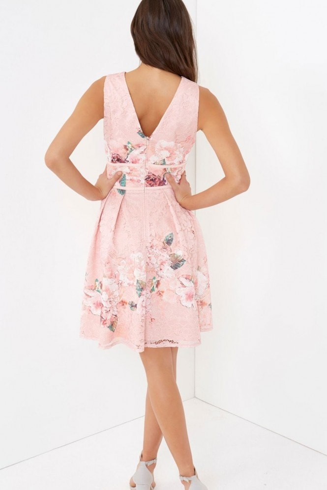 Little Mistress Pink Prom Dress