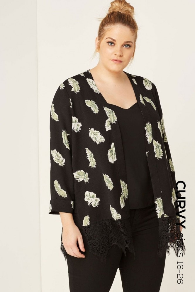 Outlet Girls On Film Print Cover Up