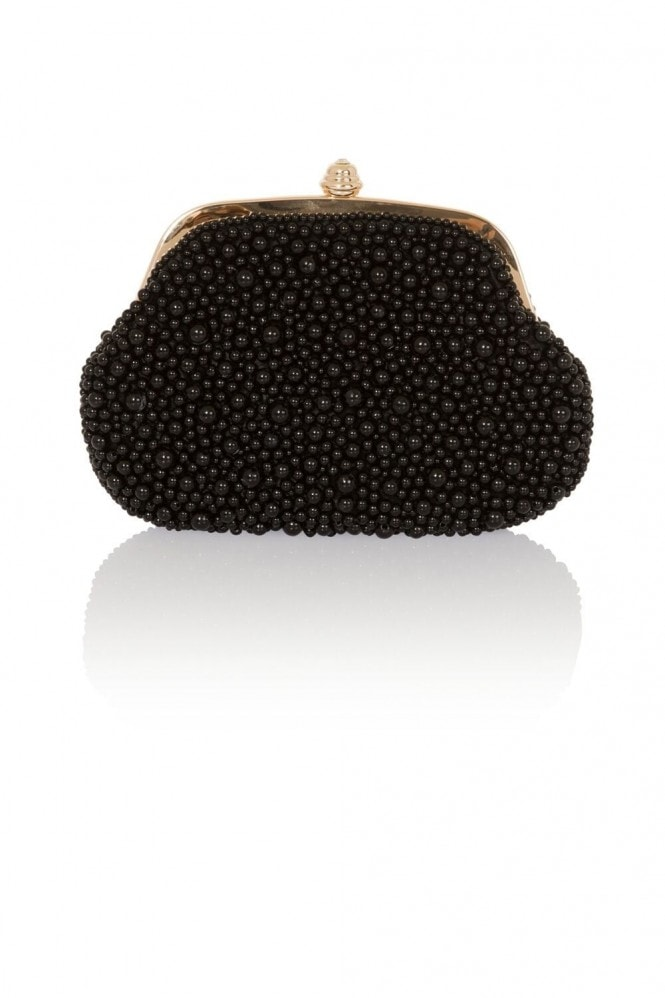 Little Mistress Handbags Black Pearl Bag