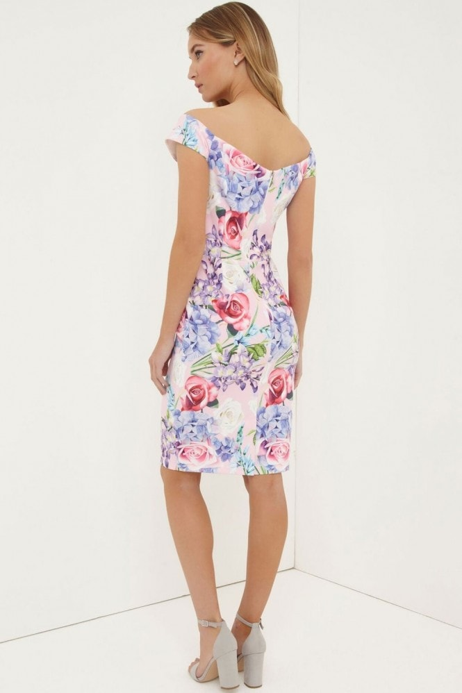 Paper Dolls Print Bardot Dress