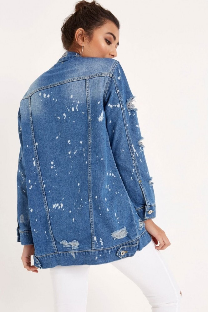 Outlet Girls On Film Denim Jacket