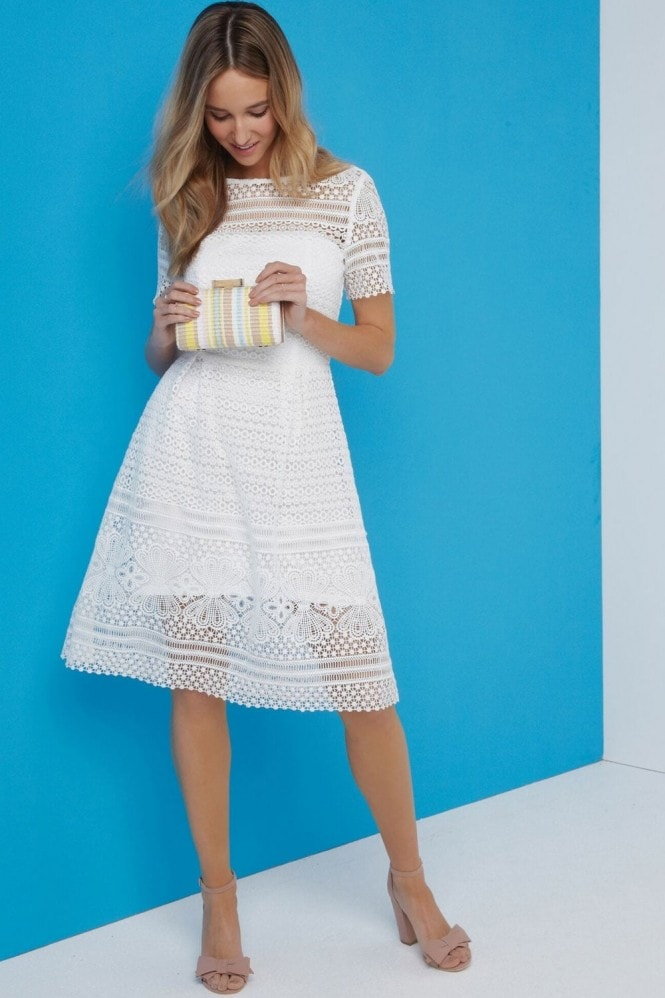 Paper Dolls White A-Line Dress