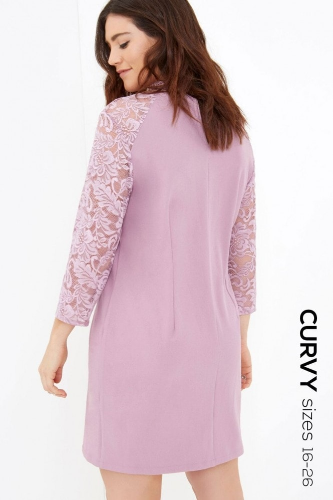 Outlet Girls On Film Pink Shift Dress