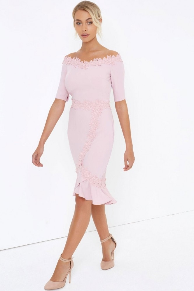 Paper Dolls Rose Crochet Dress