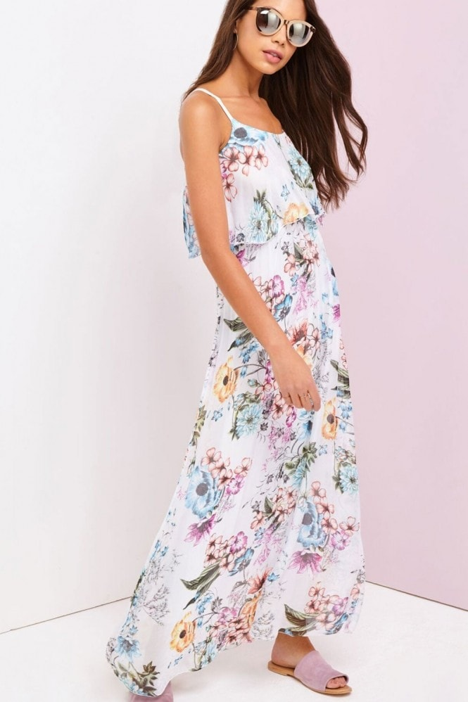 Outlet Girls On Film Floral Print Maxi
