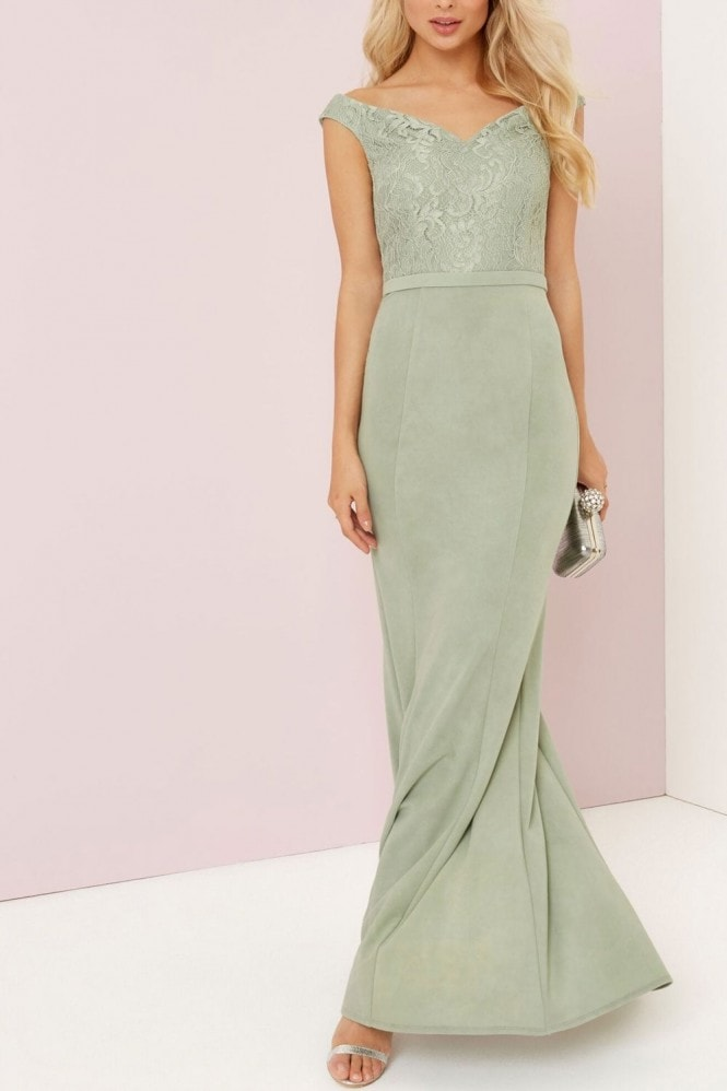Waterlily Lace Maxi
