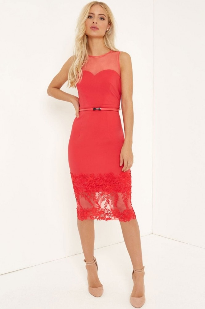 Poppy Applique Dress