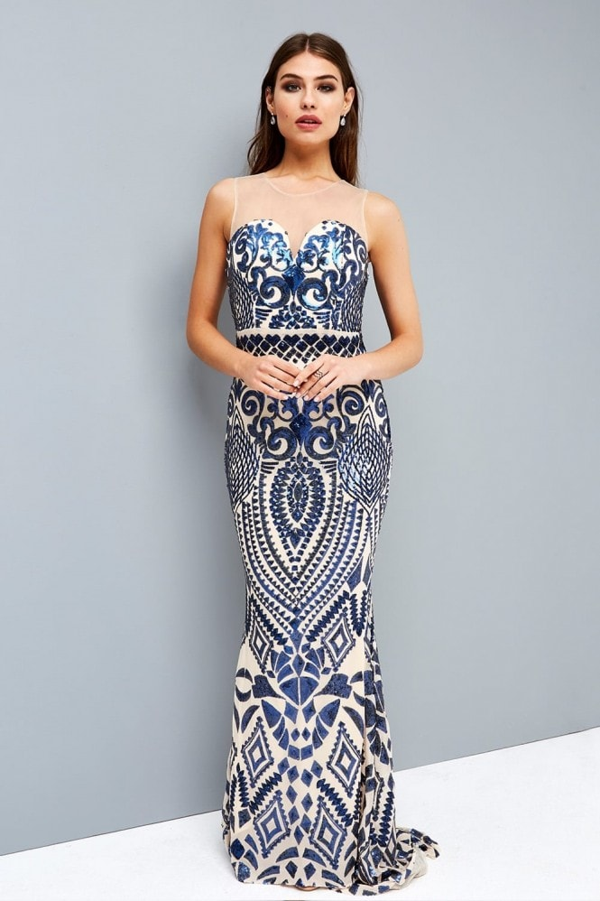 Little Mistress Sequin Deco Maxi